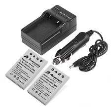 2x EN-EL5 Li-ion Battery & Charger for Nikon Coolpix 4200 P6000 S10 P510 P520 P3