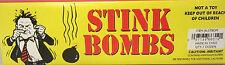 (36) GLASS VIALS STINKY SMELLY NASTY FART STINK BOMB SMELLS LIKE CRAP