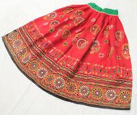 Ethnic Banjara Belly Dance Embroidery India Gypsy Tribal Boho Kuchi Rabari Skirt