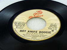 THE GOOD BROTHERS - How Long / Hot Knife Boogie - NEAR MINT-1980 CANADA PRESSING