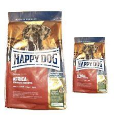 12,5kg + 4kg = 16,5kg Happy Dog  Africa Hundefutter