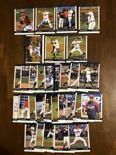 2011 Mississippi Braves Minor League Set 7 Autographed Hardy Hoover Avilan Mejia