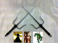 New Pair Martial Arts Karate Ninja Sword Sais