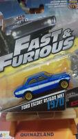 Hot wheels Fast & Furious  Ford Escort RS1600 MK1 1/55 (NG1)