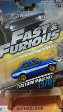 Hot wheels Fast & Furious  Ford Escort RS1600 MK1 1/55 (N2)