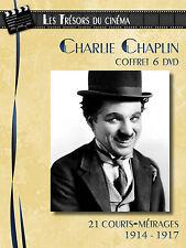Coffret 6 DVD Charlie Chaplin : 21 Courts-métrages / 1914 - 1917