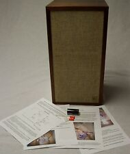 ACOUSTIC RESEARCH AR-4X NEW CROSSOVER CAPACITOR KIT & COLOR PHOTO INSTALLATION