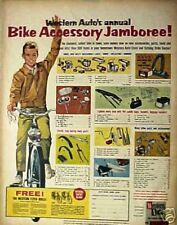 1964 Western Auto's Jamboree Bicycle Bike Accessory~Lights~Horns~Reflectors AD