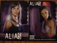 ALIAS SEASON 3: PROMO CARDS: ABC1 & APO-1