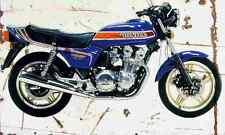 Honda CB900F BoldOr 1981 Aged Vintage SIGN A4 Retro