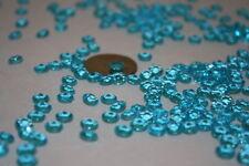 10,000 Aqua Diamond Confetti Wedding Party 1/3 Ct 1 1/2 Cups