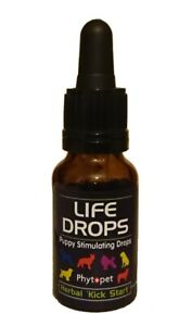 Phytopet Puppy Stimulating Life Drops 10ml herbal kick start whelping
