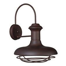 Maxim Lighting Wharf 1 Light Outdoor Wall Lantern, Empire Bronze - 35013EB