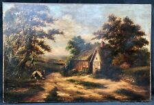 Early 19th Century British Landscape Oil Painting --- George Morland RA