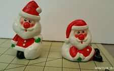 Two Santa figuines made in Japan