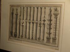 [ARCHITECTURE] Diverses espèces de colonnes extraordinaires et symboliques.