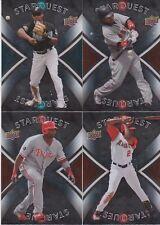 2008 Upper Deck Star Quest Common Insert (4) Card Lot Ramirez Guerrero Howard