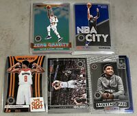 2019-20 NBA Hoops Premium Insert Lot Of 19 W/ We Got Next Zero Gravity City ++