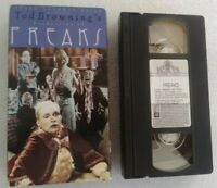 VHS - FREAKS by Tod Browning, 1990 MGM Cult Classic Horror