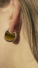 Savannah Jasper Earrings Handmade Nyc Pamela Love Sterling Silver Mojave Hoops