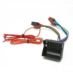 Quadlock to ISO Car Radio Harness for Vauxhall CD Stereo Adaptor Lead