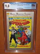 Marvel Milestone Edition Amazing Spider-Man #129 BEST CGC! 9.8 WHITE pgs 12pix