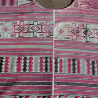 an ornate old men's duna garment african textile nupe nigeria 1950's