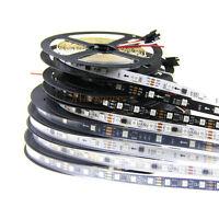 16.4ft WS2811 5050 RGB 5M 150 300 SMD Digital Magic Color LED FlexStrip Rope 12V