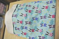 Snuggle Sack Burrow Blanket Boston Terriers Pajamas Dogs 28x20
