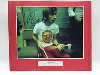 RARE Charlie Watts Rolling Stones Signed Photo Display +COA AUTOGRAPH The Stones