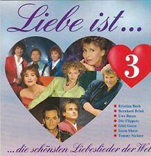 Liebe ist.. 3-Die schönsten Liebeslieder der Welt (1992) Ireen Sheer & Be.. [CD]