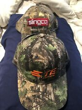 2 New hats 1 Realtree  Camo Trucker Hat and 1 Powertech camo hat