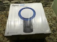 Dyson Air Multiplier AM06 Table Fan 10 Inches Blue NEW WRTY NO TAX FACTORY SEAL!