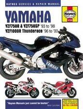 Yamaha Yzf750r Yzf1000r Motorcycle Repair Manual by Haynes Publishing