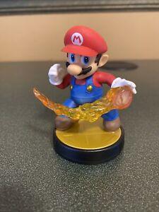 Nintendo Amiibo Super Smash Bros Mario Fireball Attack Figure