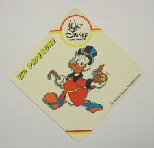 VECCHIO ADESIVO / Old Sticker DISNEY HOME VIDEO ZIO PAPERONE Uncle Duck (cm 8x8)