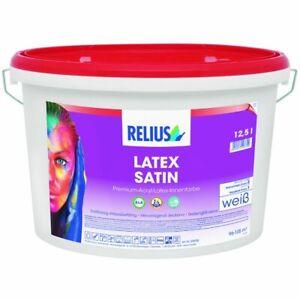 RELIUS LATEX SATIN PITTURA SMALTO PER MURI SATINATA LUCIDA