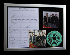 McFLY Ultraviolet GALLERY QUALITY MUSIC CD FRAMED DISPLAY+EXPRESS GLOBAL SHIP
