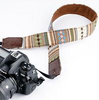DSLR SLR Camera Shoulder Strap Neck Strap Belt Grip For Nikon Canon Sony VS1035
