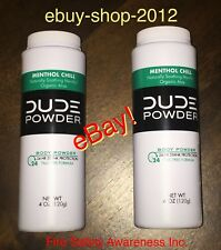 "DUDE WIPES POWDER ""2 Below $ale""  2-Body Powder W/ 24 hr Stank Protection ⚓️"