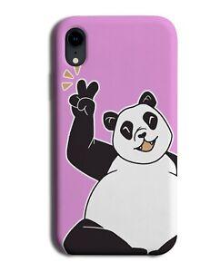 Peace Panda Phone Case Cover Symbol Hand Gesture Chinese Pandas China M580