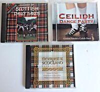 3 X CD Bundle Scottish Dance Bands Ceilidh Dance Party The Very Best Of Scotland