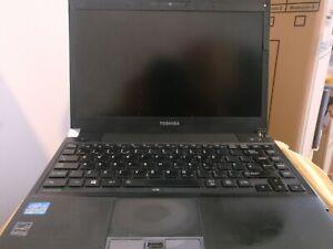 Toshiba Portege R830 13.3 in Laptop i7-2640M  GHz 4GB 128 GB SSD Win 10 Pro