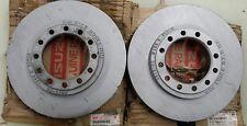 2-NOS Genuine GM Isuzu 8-97168631-1 Brake  Rotor *NOS*