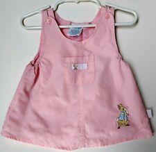 Peter Rabbit Pink Jumper Dress 3-6 months Baby Girl Easter