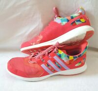 Women's Adidas Hyperfast 2.0 Multicolored Trainers Size 6.5 - Excellent Conditio