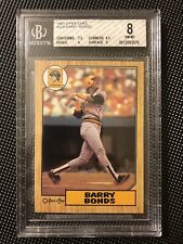 BGS 8 NM-MT 1987 O-Pee-Chee OPC #320 Barry Bonds Rookie Pittsburgh Pirates RC