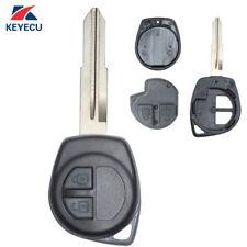 Remote Key Shell Case Fob 2 Button for SUZUKI Vitara Swift Ignis SX4 Liana Alto