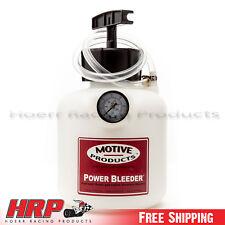 Motive Products 1st & 2nd Gen. Miata Power Bleeder w/ Adapter PN: 0111
