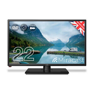 """Cello 22"""" Inch Full HD LED TV Television with Built-in DVD Player"""